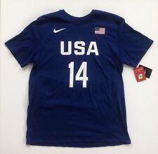 Usa Basketball Draymond Green 2016 Rio Nike Player Blue T-Shirt Xl Warriors