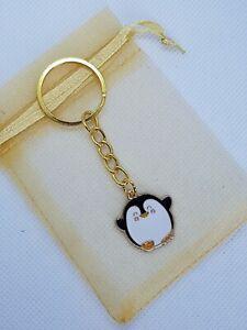 Penguin Keyring, penguin gifts, penguin lover, stocking filler, secret Santa