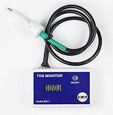 Hm Digital Sm-1 único en línea Tds Medidor, Osmosis Inversa Tds Medidor, nuevo en línea