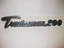 1972 1977 1969 DODGE TRADESMAN 200 VAN EMBLEM #2956457 GREAT COOL CAR ART 1970s