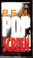 R.E.M Pop Screen - VHS
