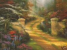 """Thomas Kinkade """"Spring Gate"""" Two (2) Postcards *New*"""