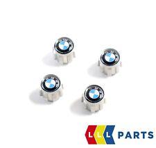 BMW NEW GENUINE EMBLEM TIRE VALVE CAP DUST COVER SET 4 PCS 36122447401