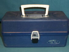 VINTAGE TACKLE BOX OLD PAL MADE IN U.S.A. FISHING TOOL SEWING BOX