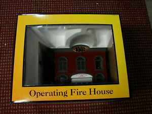 1997 MTH 30-9102 Railtown Building Operating Fire House Accessory, New/OB