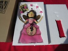 "New in Box Allen Design ""Ella Bella Princess"" Wall Clock"