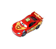 Disney Pixar Cars Diecast Neon Red Radiator Springs Lightning Mcqueen Toy