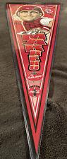 Eli Marrero St Louis Cardinals Baseball Banner Felt Pennant Flag Artist Mudge