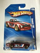 2010 HOT WHEELS TRIUMPH TR6 - RED - FASTER THAN EVER / FTE '10 - 5783