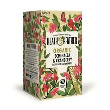 💚 Heath & Heather Organic Echinacea & Cranberry Infusion 20 bags