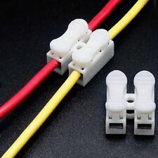 20X 2 Pin Kabel LED Strip Verbinder Schnellverbinder mit einer Klemme';,