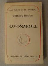Savonarole - RIDOLFI Roberto / Histoire