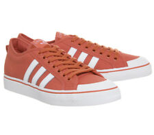 8c1f17be47bf6e Adidas ORIGINALS Mens Nizza Trainers Trace Scarlet Trainers Shoes - Size 12  UK