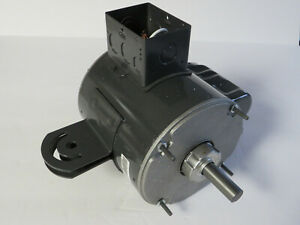 DAYTON 22YH27 DIRECT DRIVE MOTOR.HP:1/3 RPM:1075 PHASE:1 VOLTS:115 AMPS:5.3 HZ60