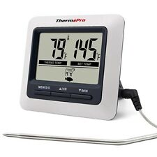 ThermoPro TP04 Digital Food Cooking Meat Thermometer with Stainless Steel Probe