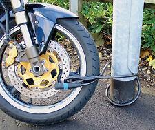 MOTORBIKE CABLE LOCK MAMMOTH LOOP & U CABLE LOCK SECURITY