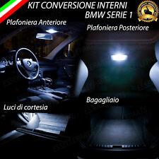 KIT LED INTERNI COMPLETO PER BMW SERIE 1 E87 ALTISSIMA LUMINOSITA' 6000K