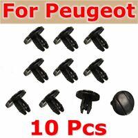 10x Garde-boue Trim Clips Agrafes Fixation Pour Peugeot 207 307 206 SW CC 856553