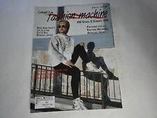 Summer 1996 Canada's Fashion Machine Magazine Patterns for Knitting Machines