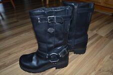 Harley Davidson Harness Boots Ladies Sz 7 M Side Zipper