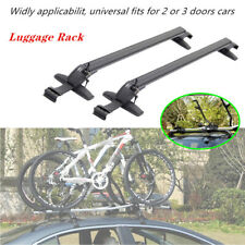 2PCS Car Luggage Rack SUV Crossbar Roof Rail Baggage Carrier Aluminum Anti theft