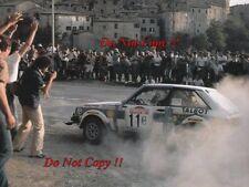 Henri Toivonen Talbot Sunbeam Lotus San Remo Rally 1981 Photograph 5