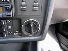 D BMW E30 3er Chrom - Gebläseschalterringe aus poliertem Edelstahl 2 Ringe