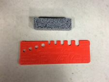 Tecomec Dressing Brick and Wheel Template Gauge Profile Tool Oregon Grinder DB-2