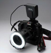 5550 D Ringblitz - LED-Blitz + Dauerlicht Funktion Makrofotografie