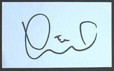 Tim Krul Signed Index Card Newcastle Norwich Holland Legend AFTAL