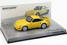 Porsche 911 Turbo S 3.3 (964) Ligero Año 1992 Amarillo 1:43 Minichamps