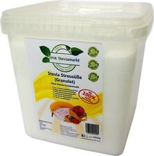 Stevia - Granulat Streusüße Tafelsüße mit Erythrit 4,5 kg BOX