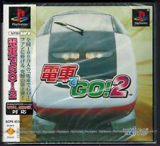 Densha de Go 2 Japan Import (Sony PlayStation 1) Factory Sealed