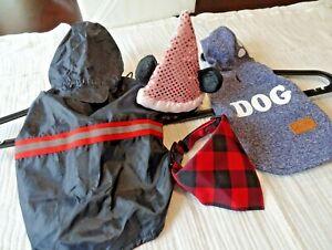 Bundle Small Dog Clothes Customs 4 Pcs