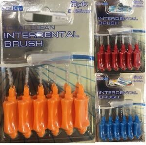 6 Inter Dental Brush Oral care Dental Floss Tooth Brush Dental Brush Oral Hygine
