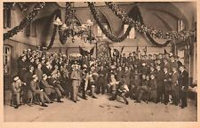 New listing Vintage Postcard 1910's Heidelberg Mensur Hirschgasse Academic Fencing Sports