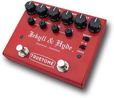 VISUAL Sound True Tone Jekyll & Hyde V3 distorsione & OVERDRIVE Effetto a Pedale Nuovo!