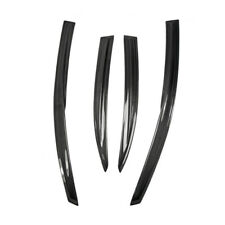 For Honda Civic FD2R 06 4 door Carbon Fiber Wind Deflector Glossy Fibre Bodykits