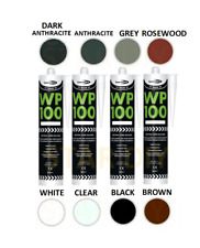 More details for wp100 silicone sealant rapid cure mastic external door & windows frames 300ml