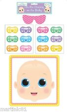 PIN THE DUMMY ON THE BABY GAME BABY SHOWER UNISEX BOY GIRL GAMES MUM TO BE BLIND