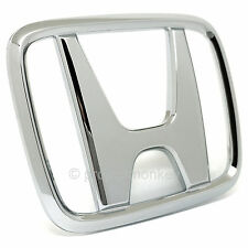 "OEM Honda 93-97 Del Sol Front Hood ""H"" Emblem Chrome Badge Genuine Part USDM"