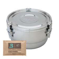 More details for cvault freshstor 4 litre liter humidity control air tight herbal tobacco tin box