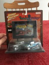 JOHNNY LIGHTNING YESTERDAY & TODAY The AMAZING SPIDER-MAN DIE CAST FORD NEW