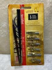 Speedball Artists Pen Set No. 5 Lettering Calligraphy 2 pen holders 9 Nibs