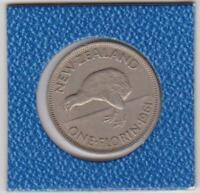 1 One Florin Neuseeland 1961 Kiwi New Zealand