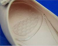 2x Plantilla almohadilla de silicona de tacón alto cuidado del pie delantero
