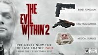 THE EVIL WITHIN 2 THE LAST CHANCE PACK DLC [PC] STEAM key