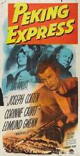 PEKING EXPRESS Movie POSTER 20x40 Joseph Cotten Corinne Calvert Edmund Gwenn