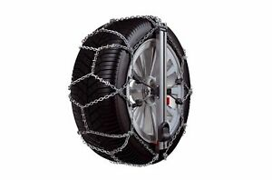 "King Thule EASY-FIT CU-10 050 Snow Chains 2 Piece 13 "" 14 "" 15 "" New Boxed"