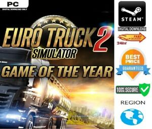 Euro Truck Simulator 2 GOTY Edition Gold +.Going East! + 4 paint jobs PC Steam